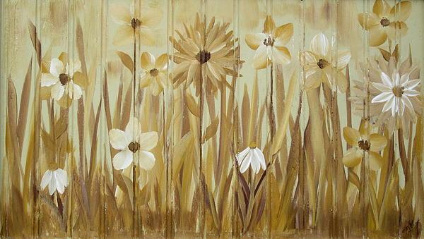 Wild Flowers Print by Kathy Sheeran