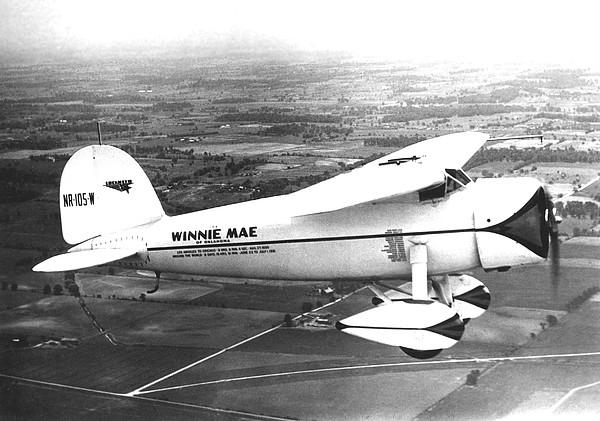 Wiley Posts Plane Winnie Mae Overhauled Print by Everett