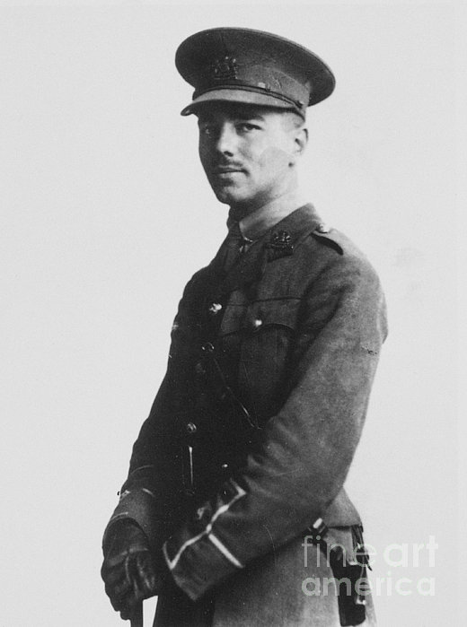 Wilfred Owen (1893-1918) Print by Granger