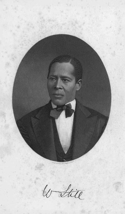 William Still 1821-1902, Abolitionist Print by Everett