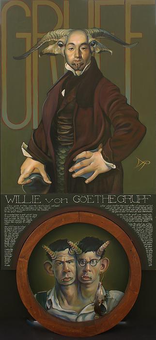 Willie Von Goethegrupf Print by Patrick Anthony Pierson