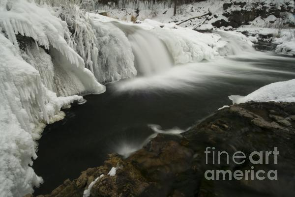 Willow Falls Photograph  - Willow Falls Fine Art Print