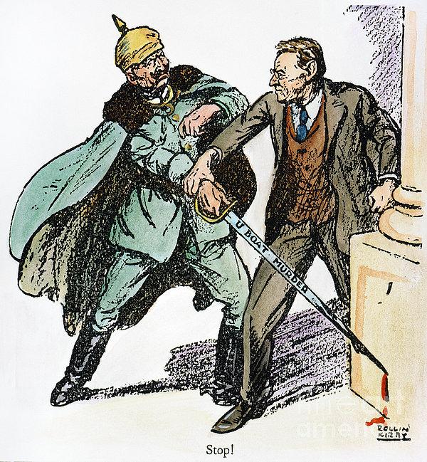 Wilson & The Kaiser: Print by Granger