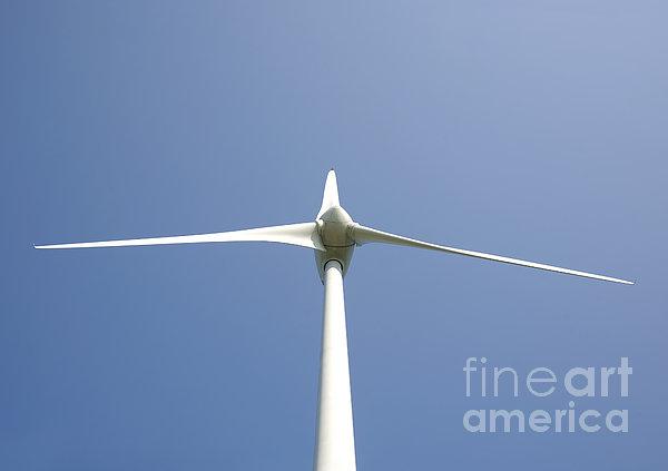Wind Turbine Print by Jaak Nilson