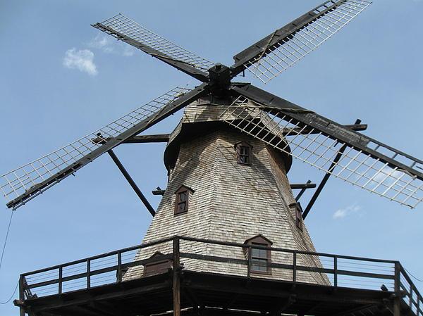 Windmill Print by Todd Sherlock