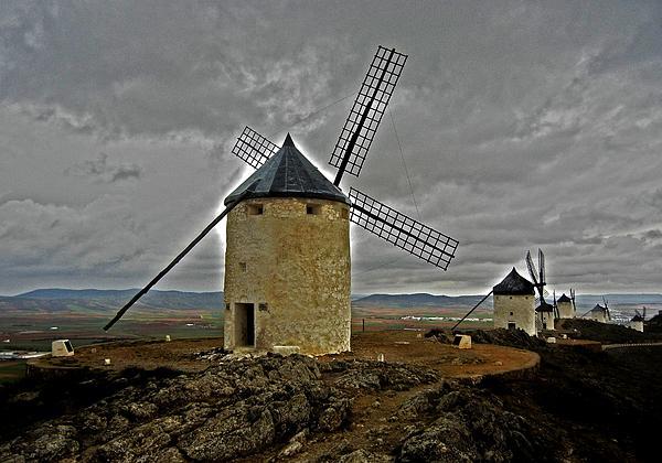 Juergen Weiss - Windmills - Consuegra