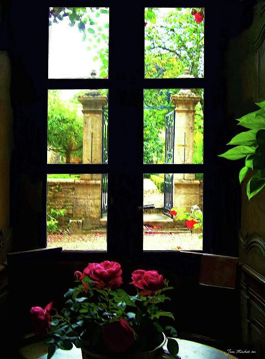 Joan  Minchak - Window and Roses