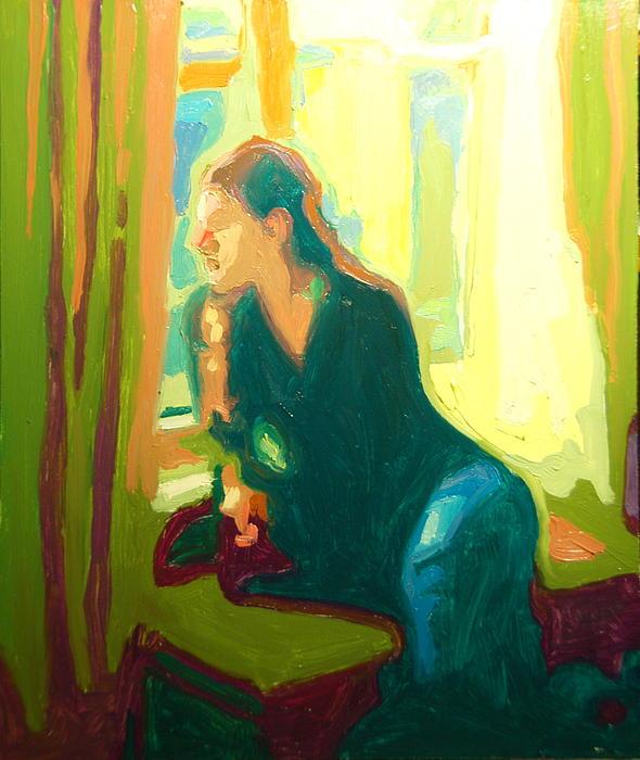 Window Seat Afternoon Light Print by Thomas Bertram POOLE