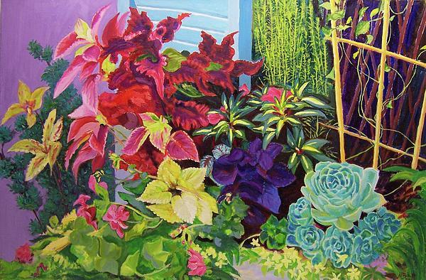 Nicolas Bouteneff - Window Sill Blooming