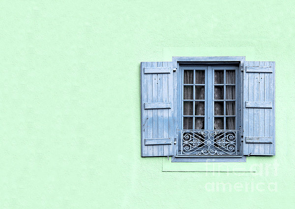 Window With Copy Space Print by Jane Rix