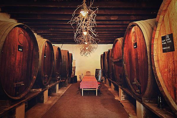 Wine Cellar Print by Benjamin Matthijs