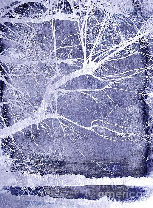 Winter Blues Print by Ann Powell