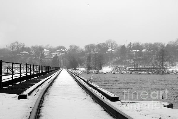 Winter Rails Print by Joel Witmeyer