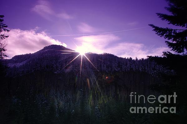 Jeff Swan - Winter Sun Winking Over The Mountains