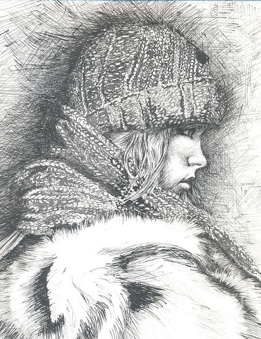 Winter Winter.... So What Print by Jovica Kostic