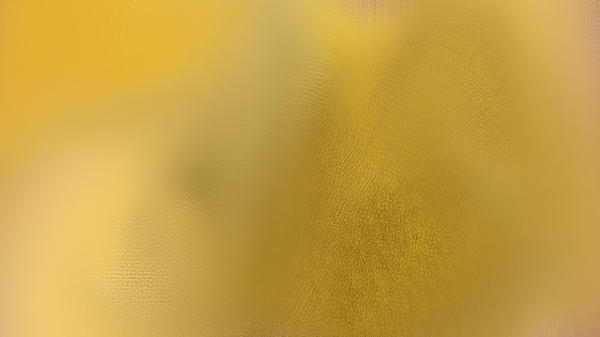 Wise Golden Yellow Print by Rosana Ortiz