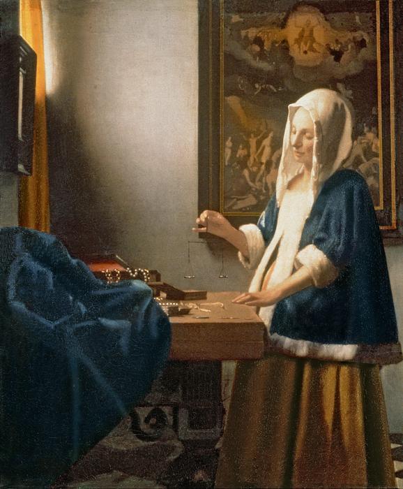 Arts Amp Life Johannes Vermeer Woman Holding A Balance