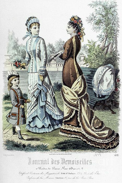 Womens Fashion, 1877 Print by Granger