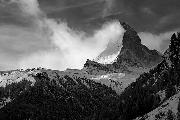 Wonder Of The Alps Print by Neil Shapiro