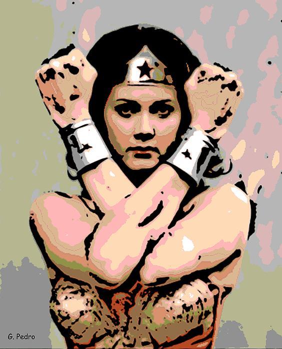 Wonder Woman Print by George Pedro