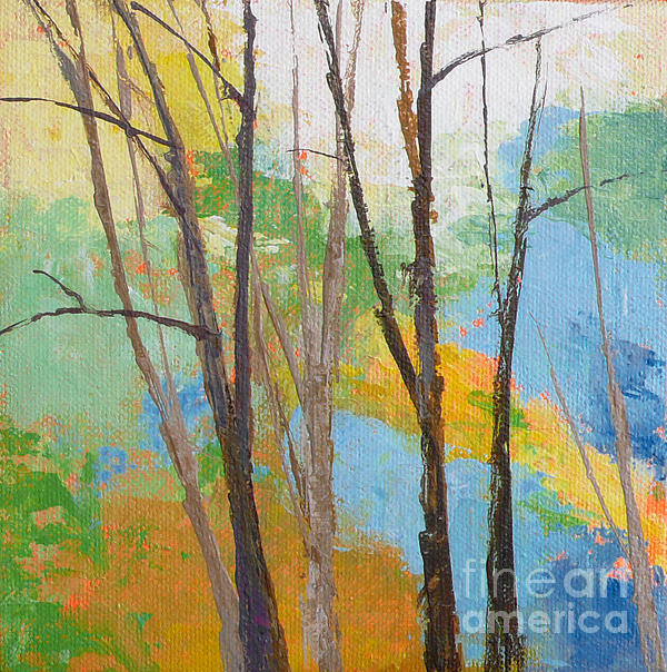 Woodland #2 Print by Melody Cleary