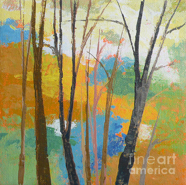 Woodland #3 Print by Melody Cleary