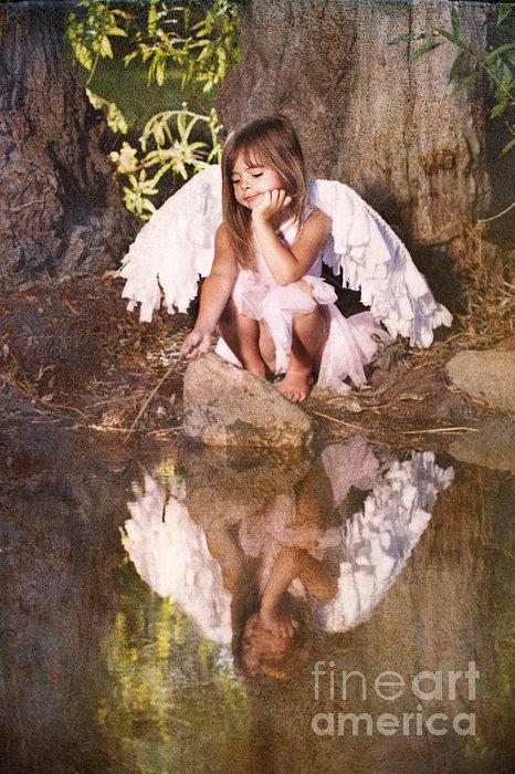 Woodland Fairy Print by Cindy Singleton