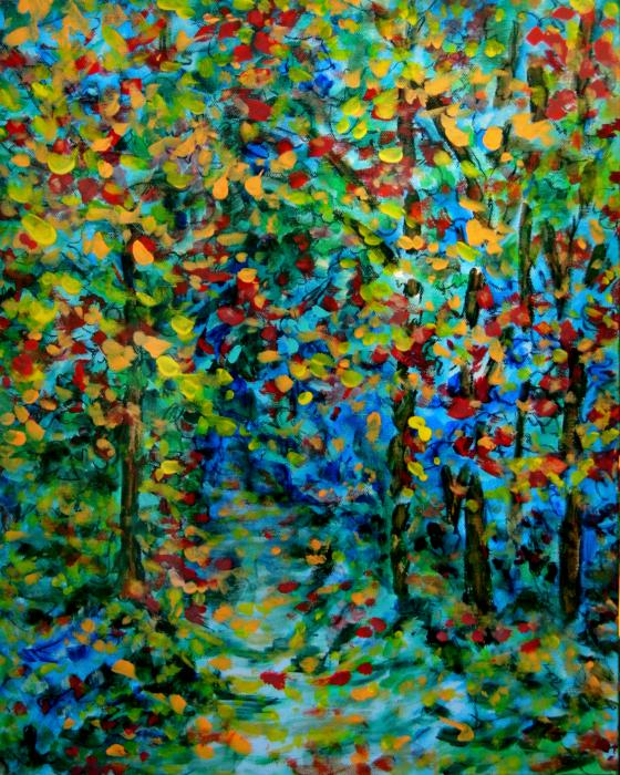 Laura Heggestad - Woodland Path - Autumn