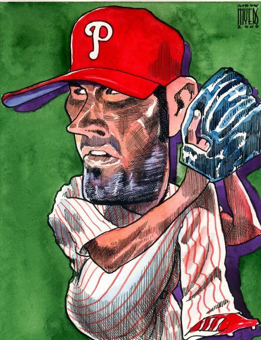 World Series Mvp Print by Robert  Myers