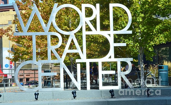 World Trade Center Print by Kathleen Struckle