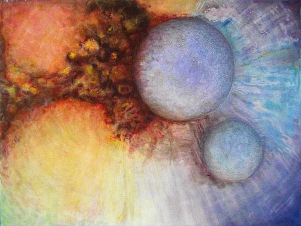 Worlds Within Worlds Print by Gwen Ontiveros