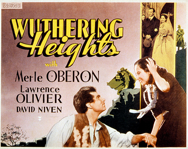Wuthering Heights, Laurence Olivier Print by Everett