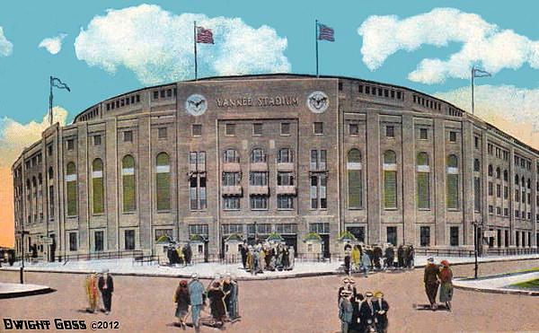 Yankee Stadium C.1930 Print by Dwight Goss