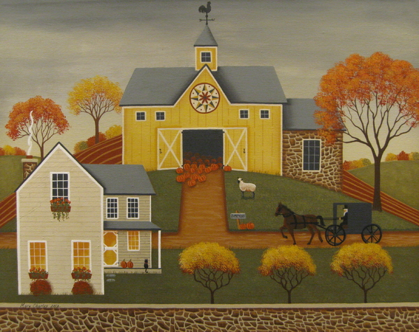 Mary Charles - Yellow Barn