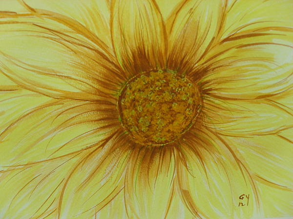 Ginny Youngblood - Yellow Daisy