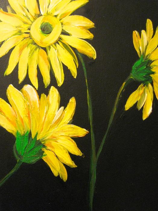 Kathleen Othon - Yellow Floral