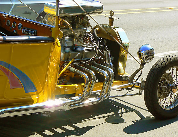 Pamela Patch - Yellow Rat Rod