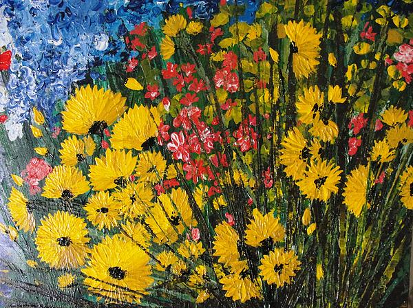 Shilpi Singh - Yellow with flowers