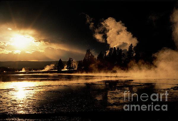 Sandra Bronstein - Yellowstone River Sunrise