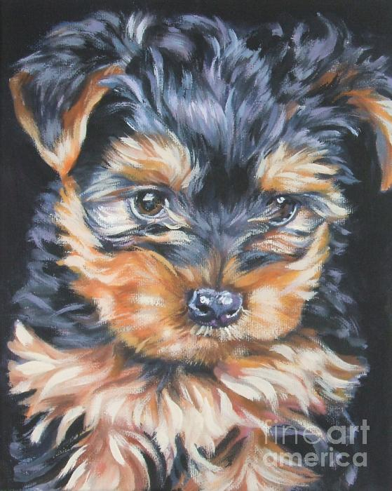 Lee Ann Shepard - Yorkshire Terrier pup