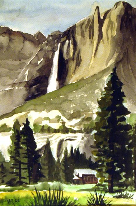 Yosemite IIi Painting  - Yosemite IIi Fine Art Print