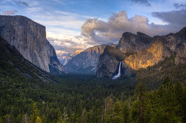 Yosemite Sunset Print by Jim Neumann