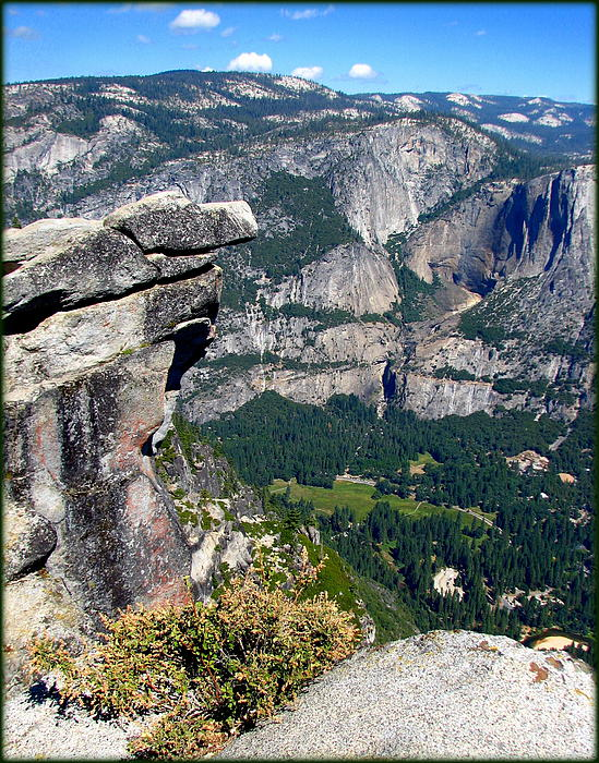 Carla Parris - Yosemite Valley from Glacier Point