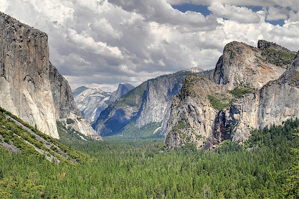Yosemite Valley Print by Pierre Leclerc Photography