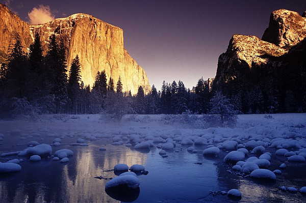 Yosemite Valley Sunset Print by Michael Howell - Printscapes