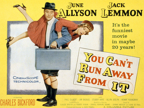 You Cant Run Away From It, Jack Lemmon Print by Everett