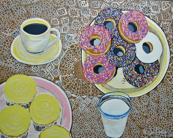 Yummy Print by Norma Tolliver