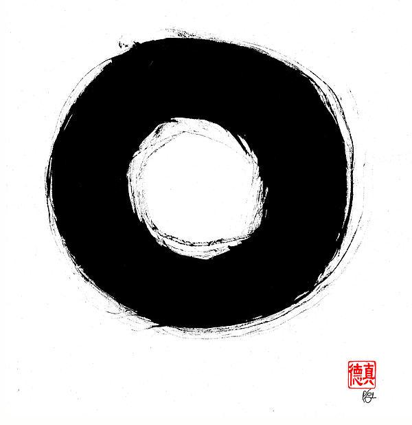 Zen Circle Seven Print by Peter Cutler