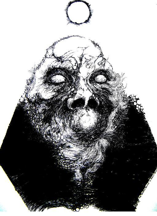 Zombie Rising Print by Harold Bascom