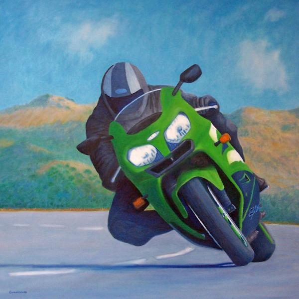 Zx9 - California Dreaming Print by Brian  Commerford